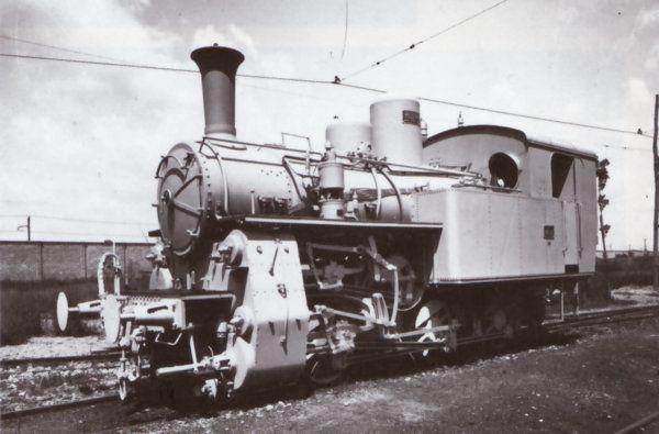 Locomotiva a vapore 981.001 in una foto di catalogo