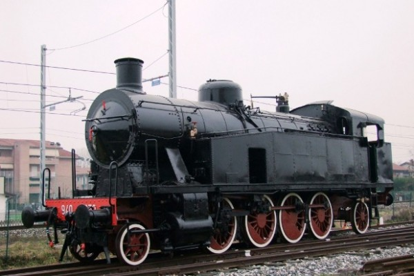 Locomotiva 940.030 pronta per il trasferimento a Torino