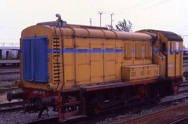 Locomotiva Diesel da manovra pesante Ne 700.001