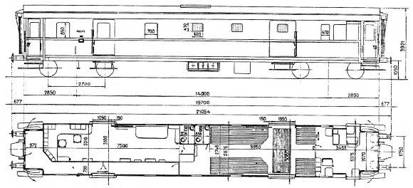 Bagagliaio per treni viaggiatori DUz 95000