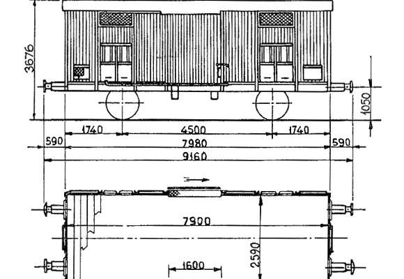 Figurino dei carri F serie 1000100