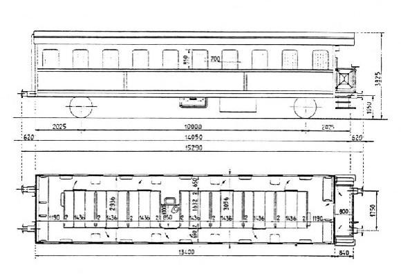 Carrozza per trasporto detenuti KT 48405