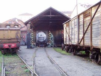 Le officine di torino ponte mosca museo ferroviario - Orari treni milano torino porta nuova ...