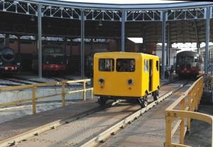 La draisina - veicolo per la manutenzione e l'ispezione della linea