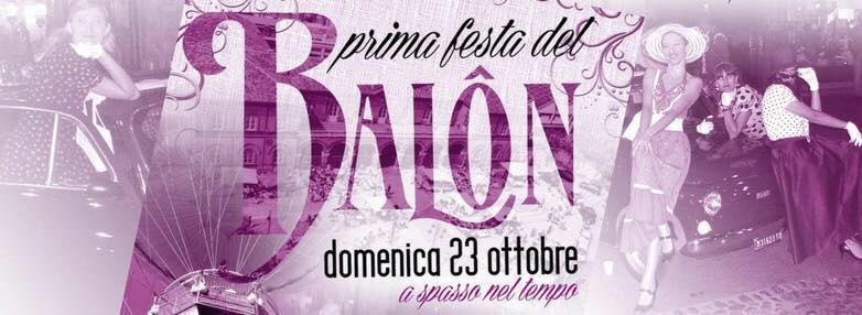Logo festa Balon