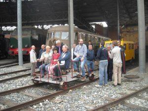 Il prototipo di velocipede ferroviario del Museo