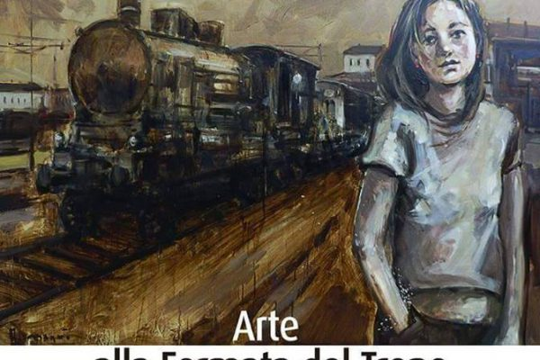 Arte Alla Fermata Del Treno 207