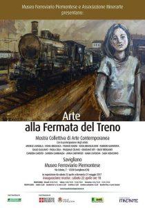 Locandina Arte Alla Fermata del Treno 2017